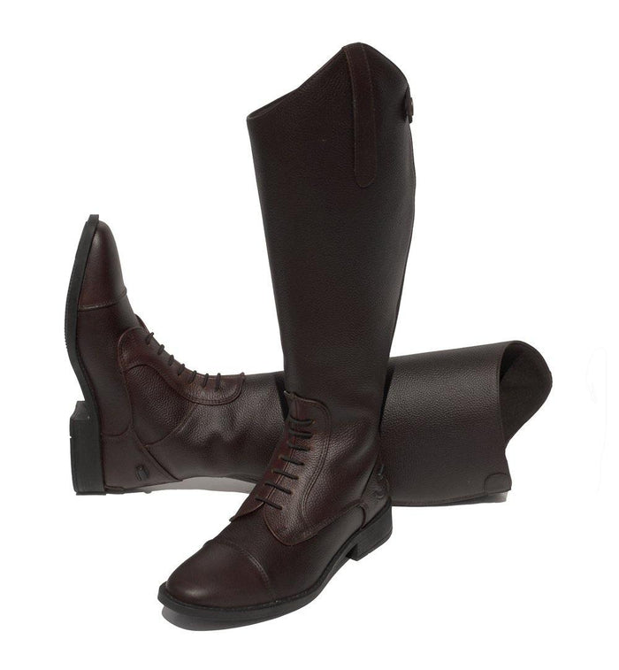 Rhinegold Bottes Elite Luxus Molet Large Marron