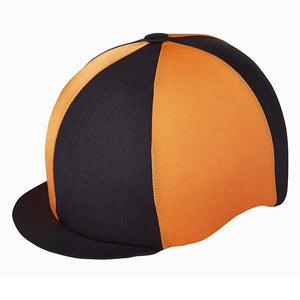 Capz Toque Bicolore Orange et Noir - SHOP HORSE