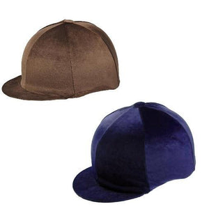 Capz Toque Velour - SHOP HORSE