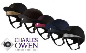 Charles Owen Pro 2 Plus Casque de Cross - SHOP HORSE