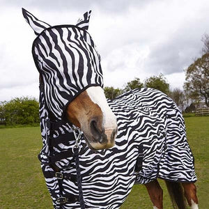 Elico Masque Anti-mouches Zebre - SHOP HORSE