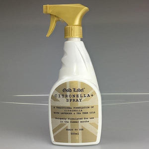 Gold Label Citronella Plus - spray Anti-mouches
