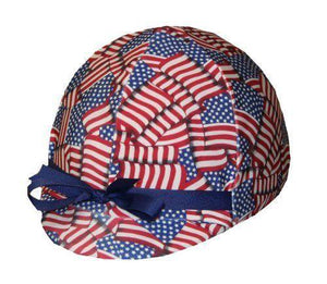 Fun Toque d'Equitation Stars & Stripes - sans visiere - SHOP HORSE