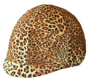 Fun Toque d'Equitation Cheetah - sans visiere - SHOP HORSE