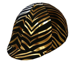 Fun Toque d'Equitation Zebre D'Or - sans visiere - SHOP HORSE
