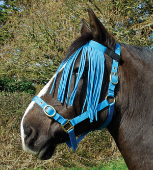 Rhinegold Frange Anti-Mouches - SHOP HORSE