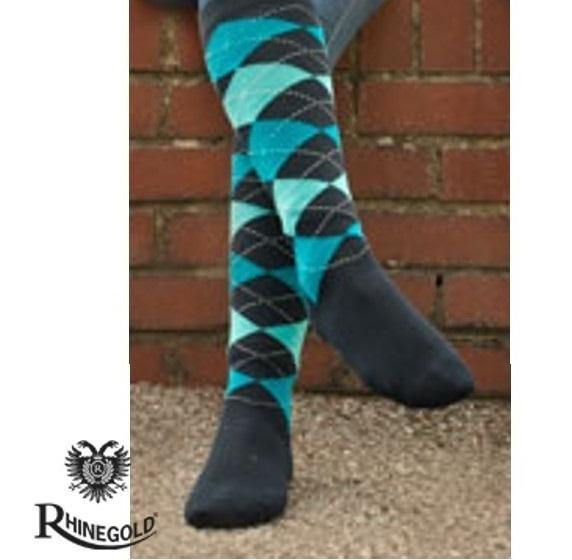 Rhinegold Chaussettes Adulte - Turquoise