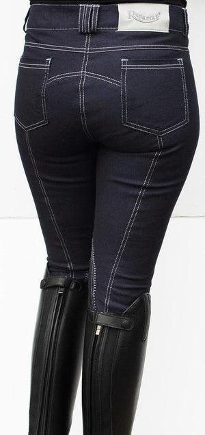 Rhinegold Jodhpurs Denim - SHOP HORSE
