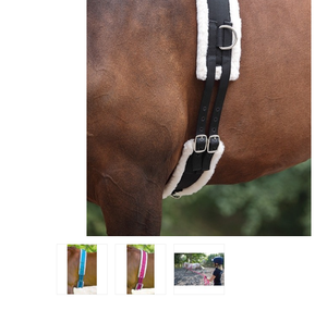 Shires Surfaix double Mouton Synthetique - SHOP HORSE