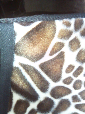 Tapis de Selle Animaux Giraffe - Poney - SHOP HORSE
