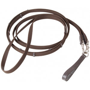 TdeT Renes Allemandes Sangle et Cuir - SHOP HORSE