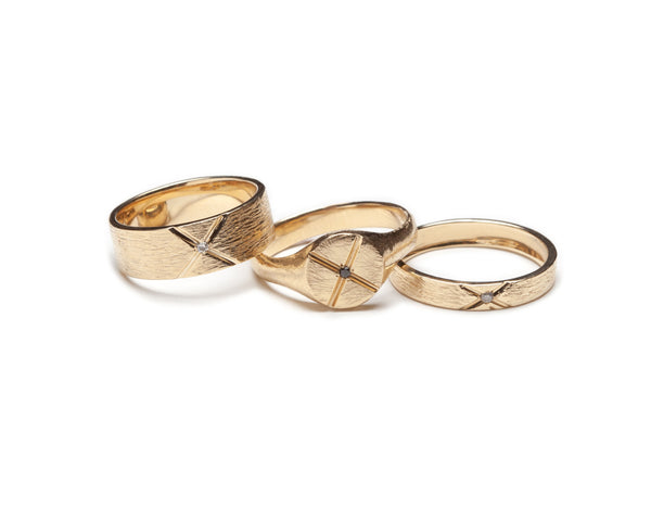 Bexon Jewelry Recycled Gold Rings