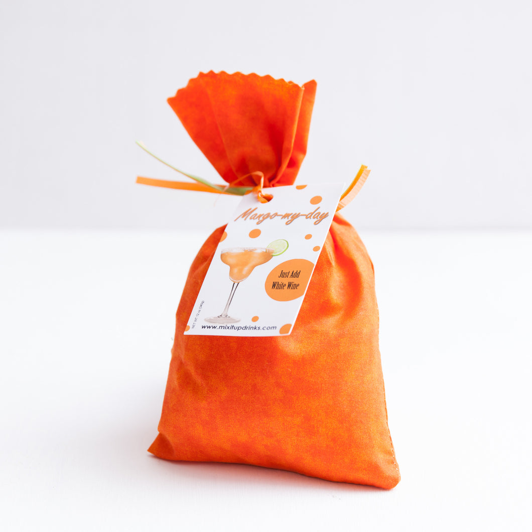 Mango My Day - Slushy Wine Mix in Orange Bag