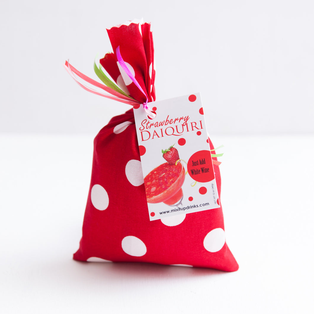 Strawberry Daiquiri - Slushy Wine Mix in Red Bag