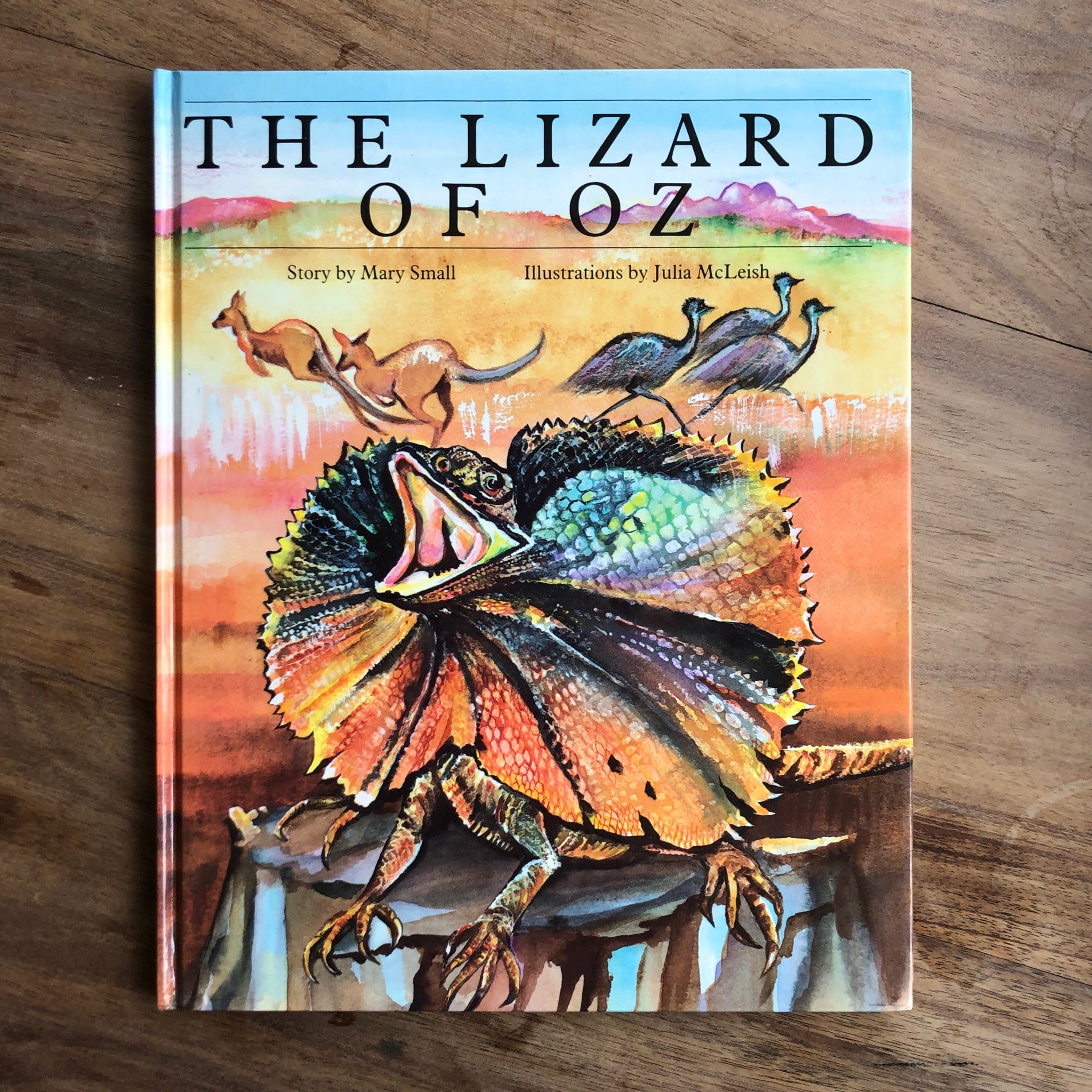 The Lizard of Oz by Mary Small