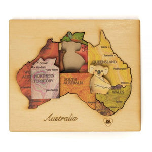 Double Layer Australia Puzzle