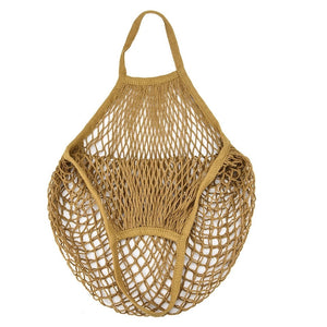Cotton String Bag - Golden