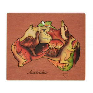 Australian Native Animal Puzzle
