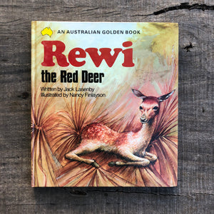 Rewi the Red Deer - Jack Lasenby