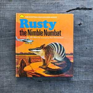 Rusty the Nimble Numbat - Jill Morris