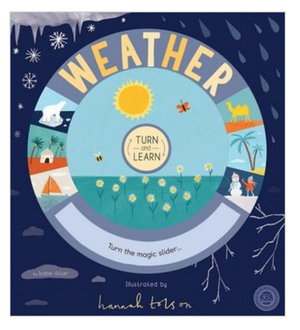 Turn and Learn : Weather by Isabel Otter