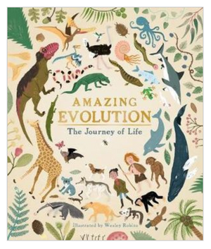Amazing Evolution by Anna Claybourne