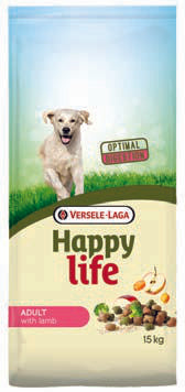 Versele Laga HAPPY LIFE Adult all'Agnello 15kg