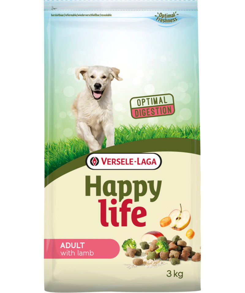 Versele Laga HAPPY LIFE Adult all'Agnello 3kg