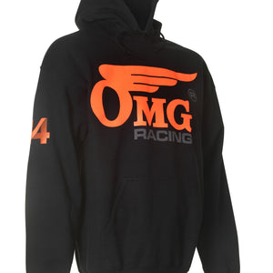 Unisex OMG 44 Pull Over Hoodie - Orange