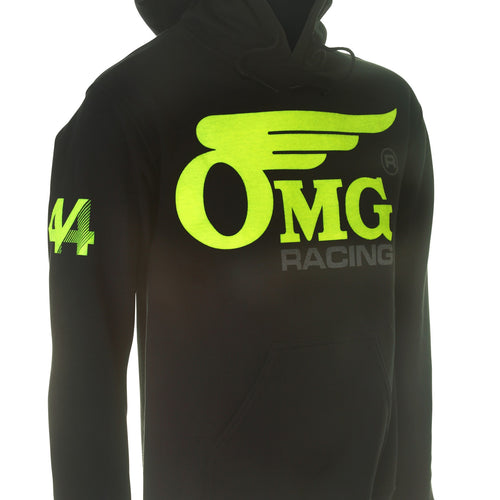Unisex OMG 44 Pull Over Hoodie - Yellow