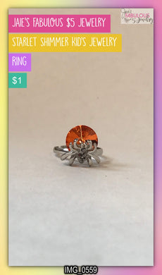 kid's spider ring