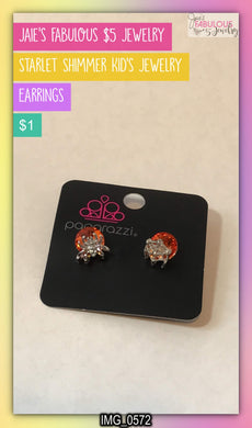 kid's spider earrings