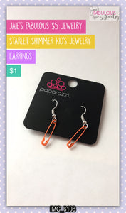 Kid's earrings