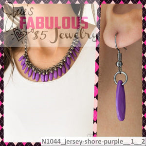 jersey shore purple
