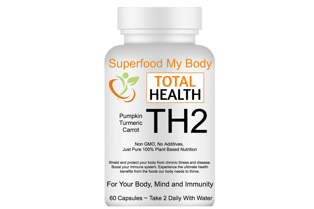 TH2 Total Health Pumpkin, Carrot, Turmeric Superfood