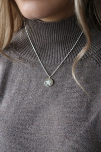 Sky Silver Necklace