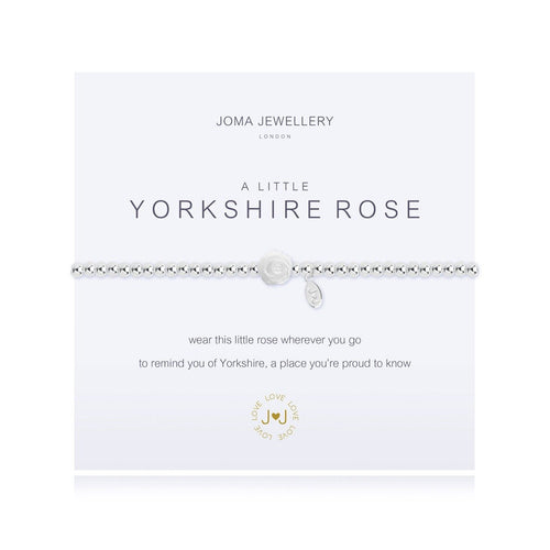 A Little Yorkshire Rose Silver Joma Bracelet