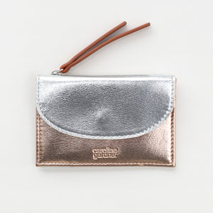 Rose Gold & Silver Small Card Purse