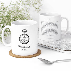 Running Nut Motivational Quotes Mug