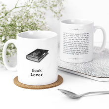 Load image into Gallery viewer, Book Lover Inspiring Quotes Mug