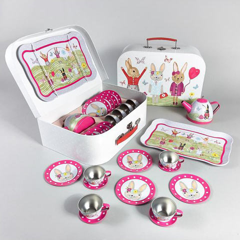 Rabbit 15 Piece Tea Set