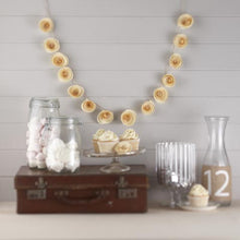 Load image into Gallery viewer, Vintage Affair Paper Flower Garland