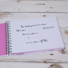 Load image into Gallery viewer, You & Me Wedding Guest Book