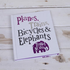Planes Trains Travel Journal
