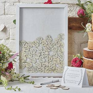 Boho Top Drop Frame Guest Book
