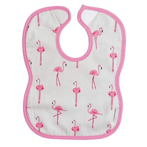 Flamingo Child's Bib