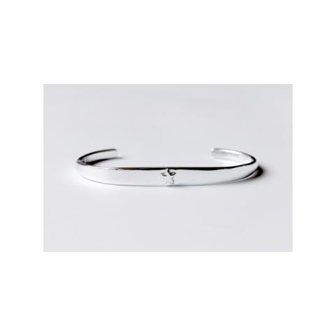 Star Christening Bangle