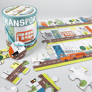Transport 48 Piece Floor Puzzle