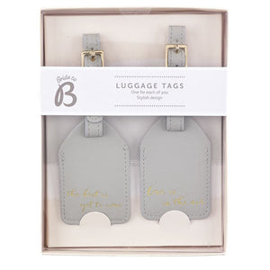 Set of Two Luggage Tags