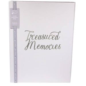 Large Treasured Memories Keepsake Box
